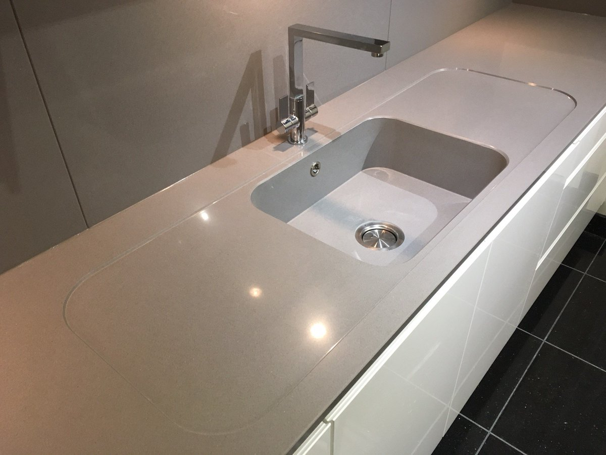 Silestone integrity sink with recess drainer - 4 35 Am 5 Apr 2017 From Ipswich England