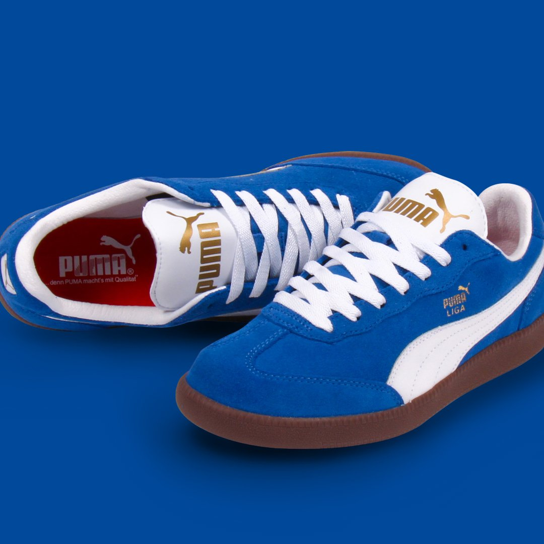 Twitter Liga 80s Fine On Casual In Suede Classics At Puma Fresh A A4qSCt