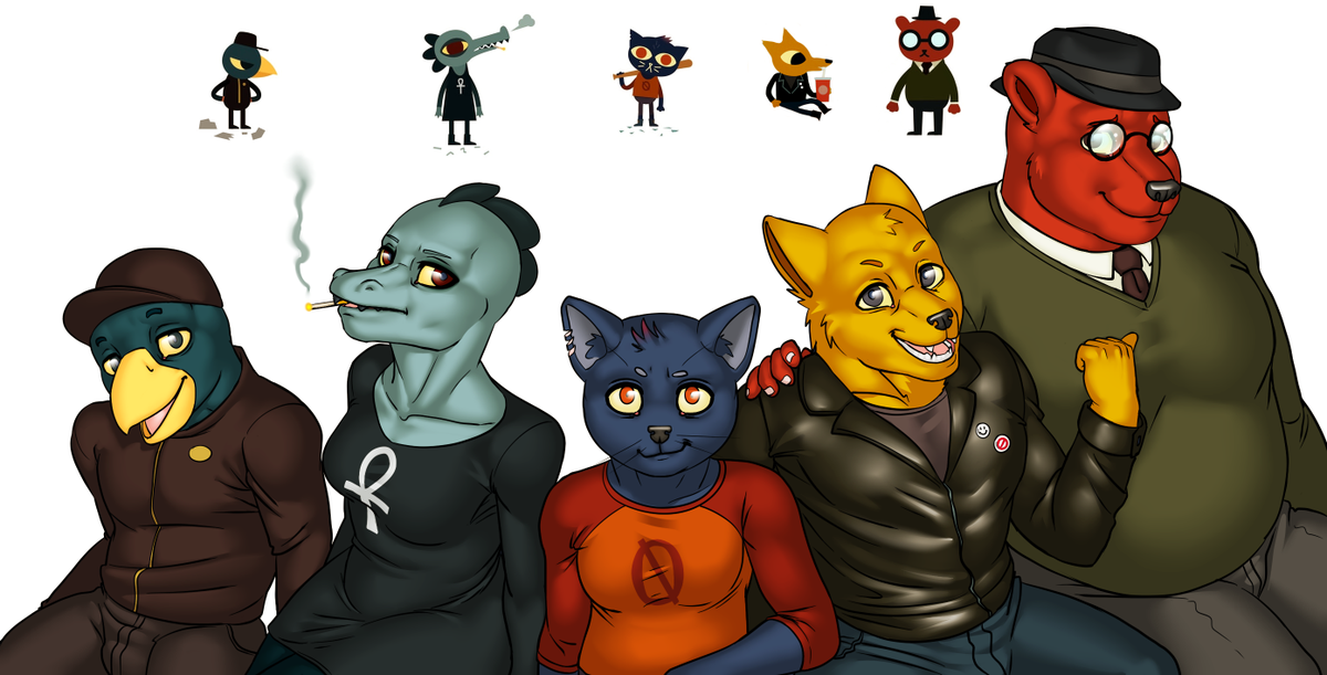 Rocky Novarin On Twitter I Love This Game And Its Characters So Much So Much That I Made A Thing Sorry Its Not Porn Night In The Woods