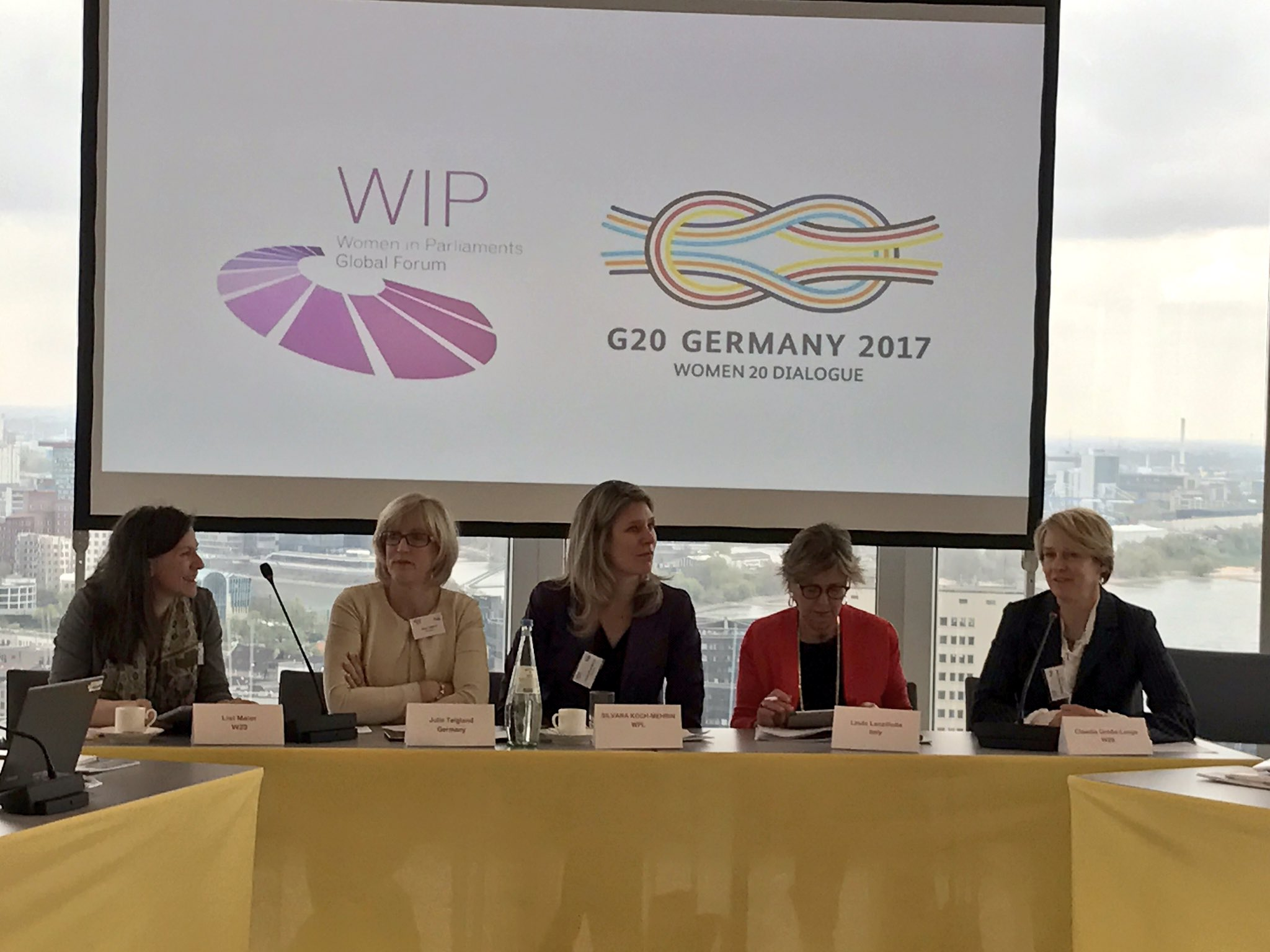 Great to be joined by both @Frauenrat and @VdU_eV, the driving forces and co-chairs behind #w20germany https://t.co/P8P3j668uW