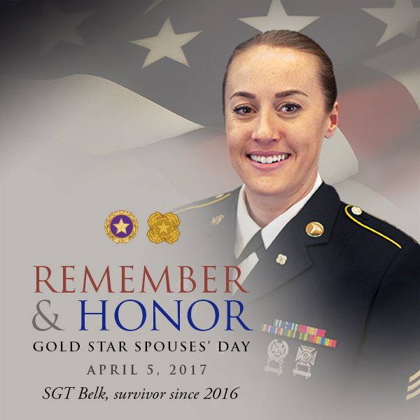 Today is #GoldStarSpousesDay. Never forget the sacrifices of the Fallen and their Families – https://t.co/YphvHTLI7v https://t.co/mUpeRnXR4p
