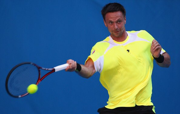 """マリヤード on Twitter: """"あのテニスプレイヤーはいま…その1 ロビン ..."""