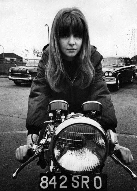 Happy birthday to Jane Asher. Photo from 1965.
