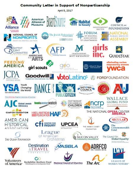 4500 #Nonprofits to Congress: Let us keep focus on #CommunityNotCandidates https://t.co/TIAzGSJAIo #JohnsonAmendment https://t.co/v5YKXKEzqS