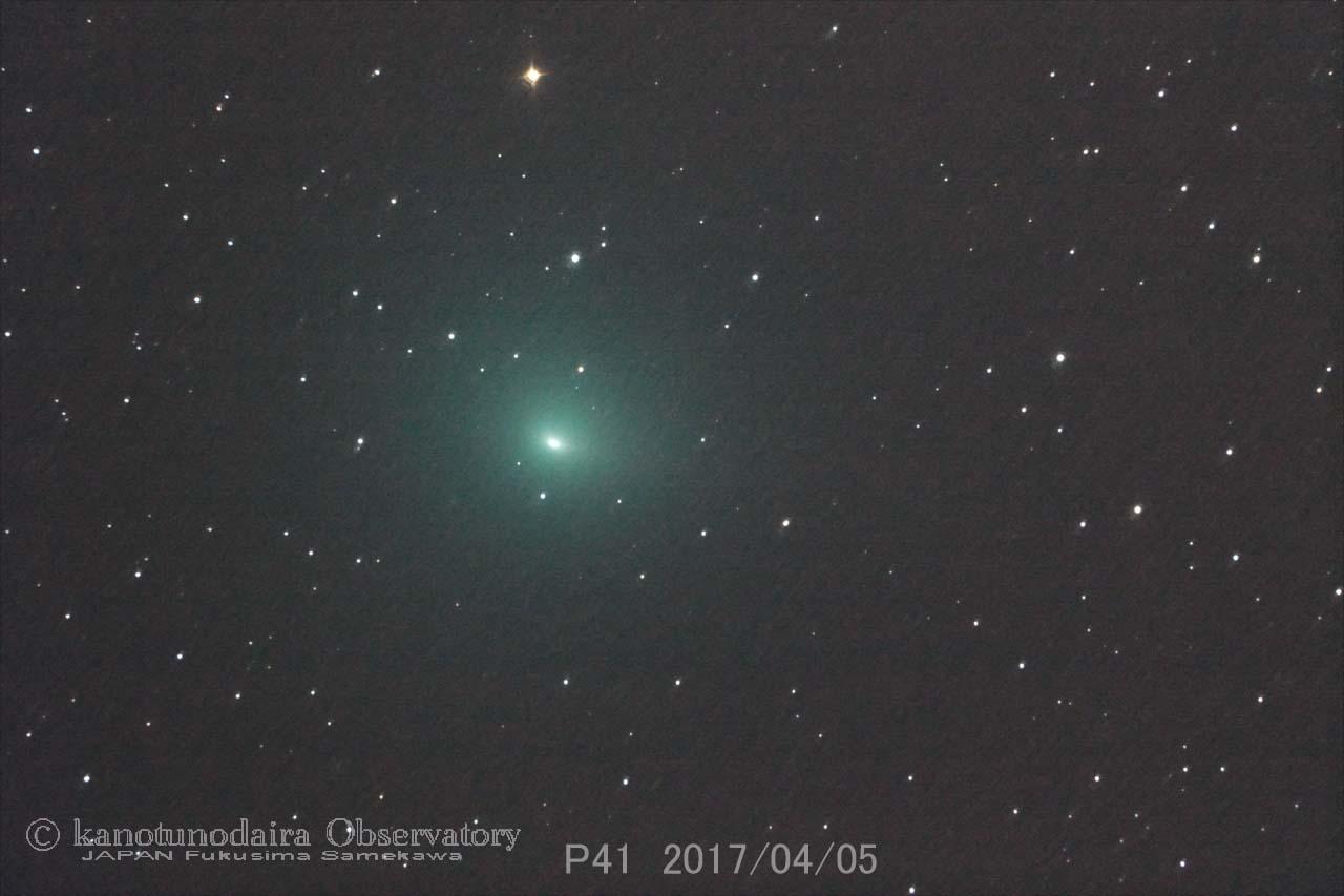 タットル-ジャコビニ-クレサーク彗星 (41P) 2017/04/05