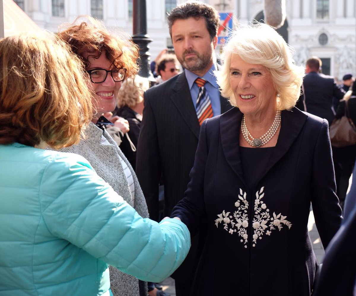 """Angelika Baumgart clarence house on twitter: """"the prince and the duchess have"""