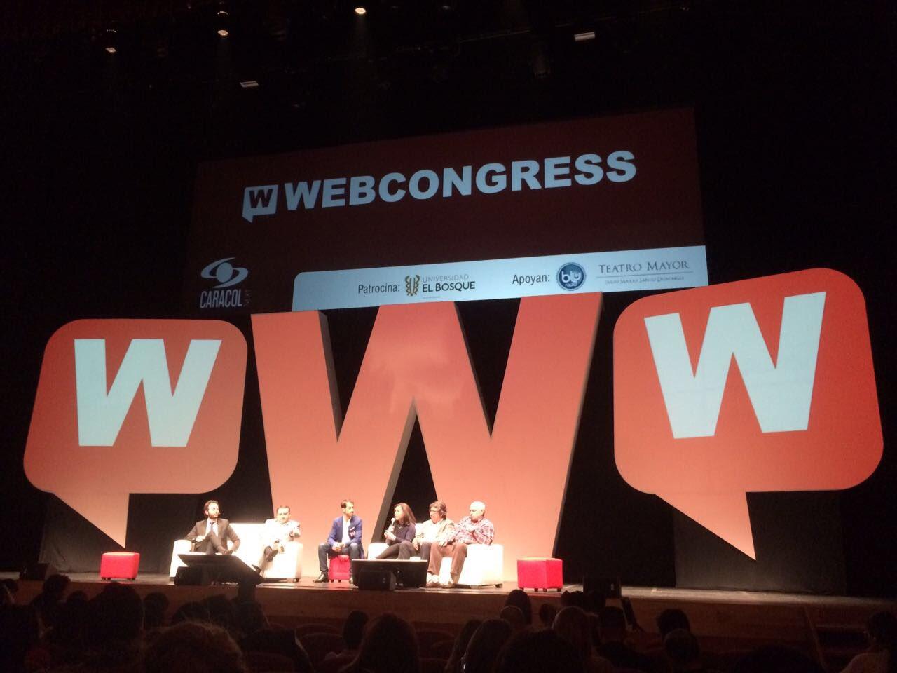 Con #Webcongress quedé más enamorada del #Emprendimiento e #Innovación iFelicitaciones @ouali, @MrMarioSuazo y todo el equipo @webcongress! https://t.co/2VYk22eLV4