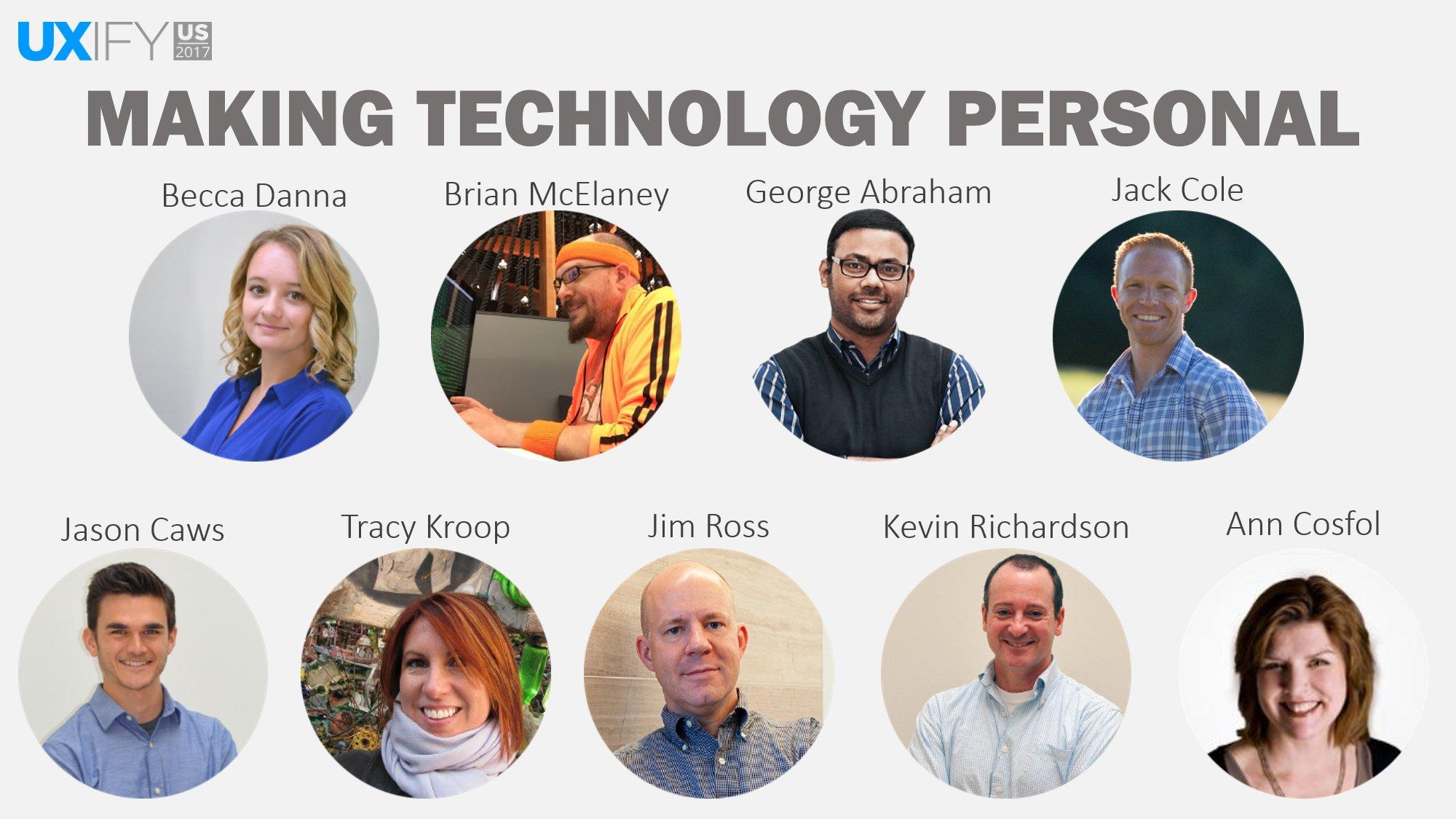 UXify 2017 Speakers
