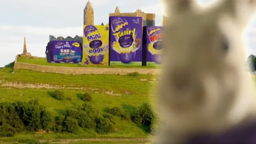 Cadbury Ireland On Twitter Our Bunny Has Hidden Irish Landmarks - Irish landmarks