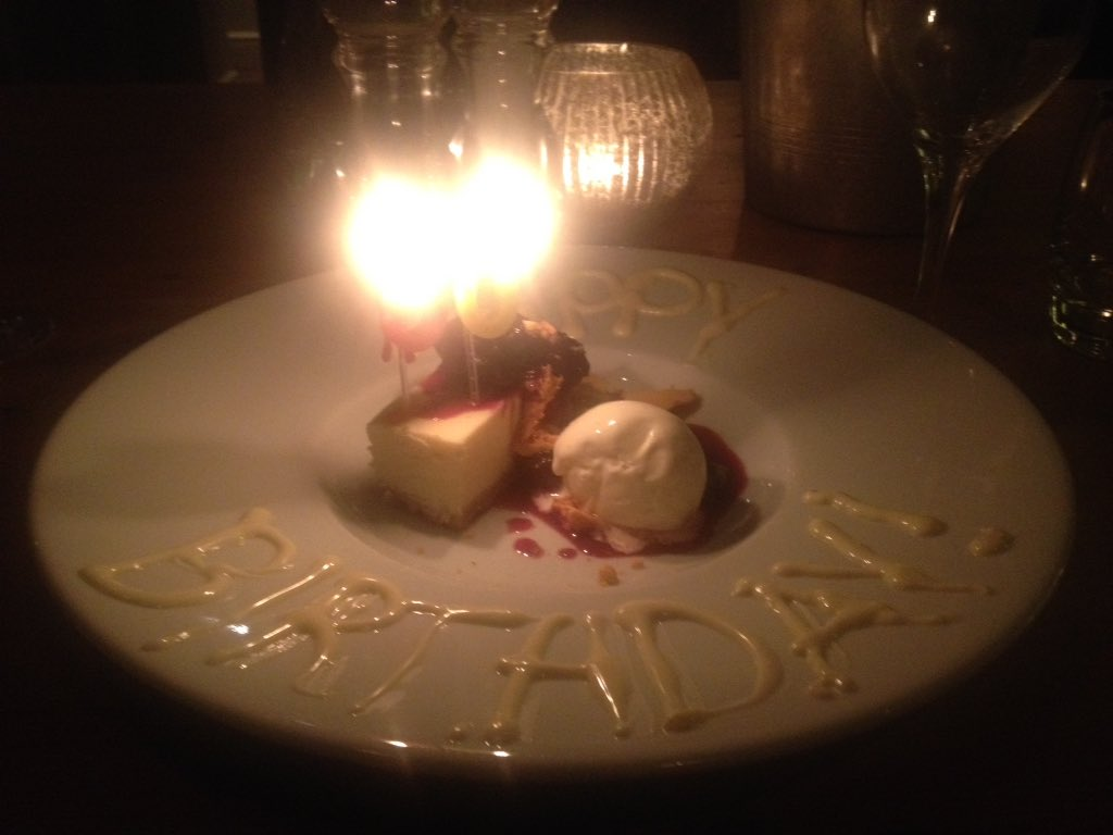 Wonderful meal at @the_mulberry last night, thanks guys