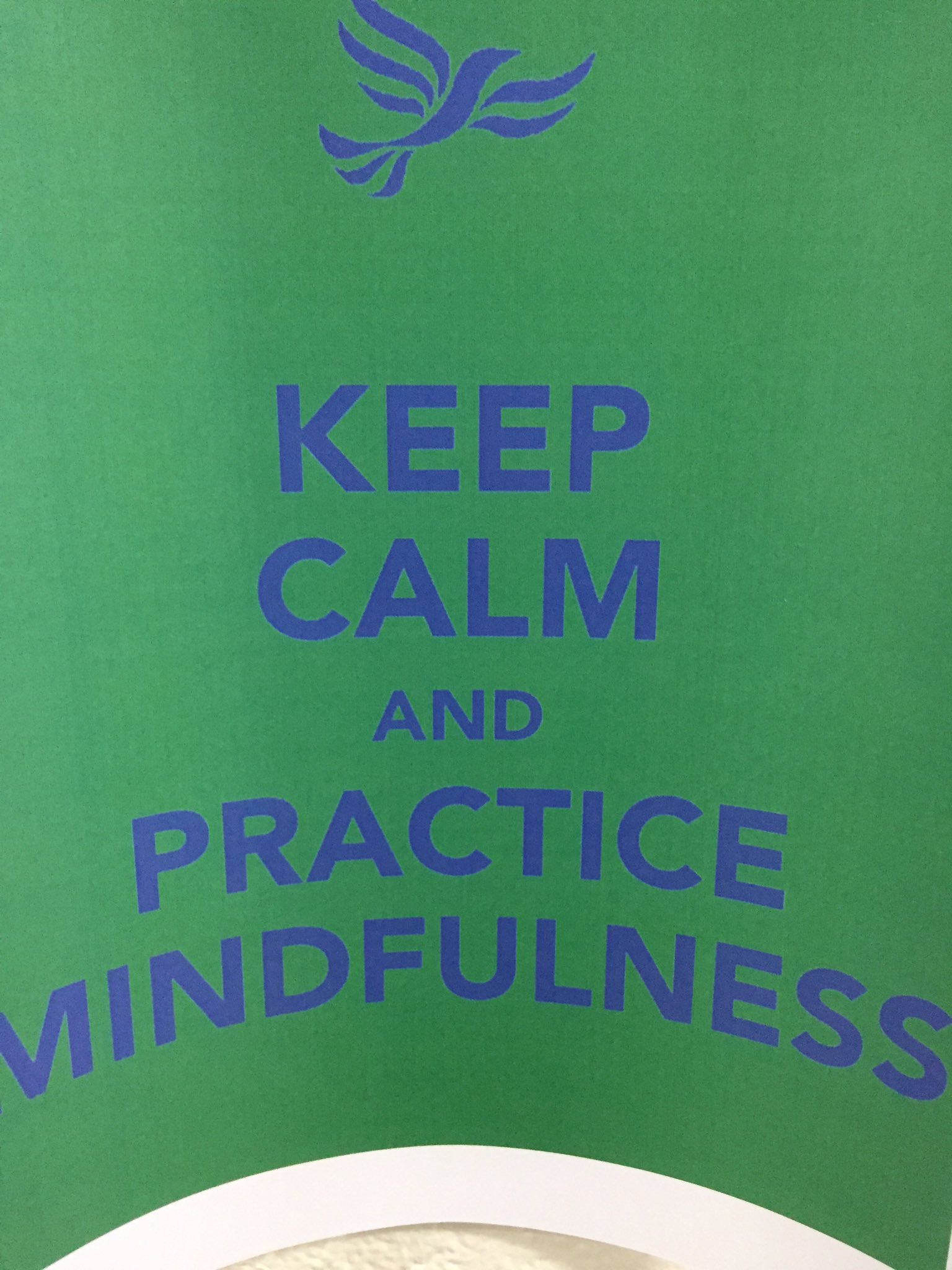 Practicing mindfulness in the Lower School - International Calm Day #myflinthill #calmday https://t.co/Hv8qSH5Nph