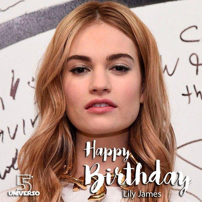 Happy Birthday, Lily James!