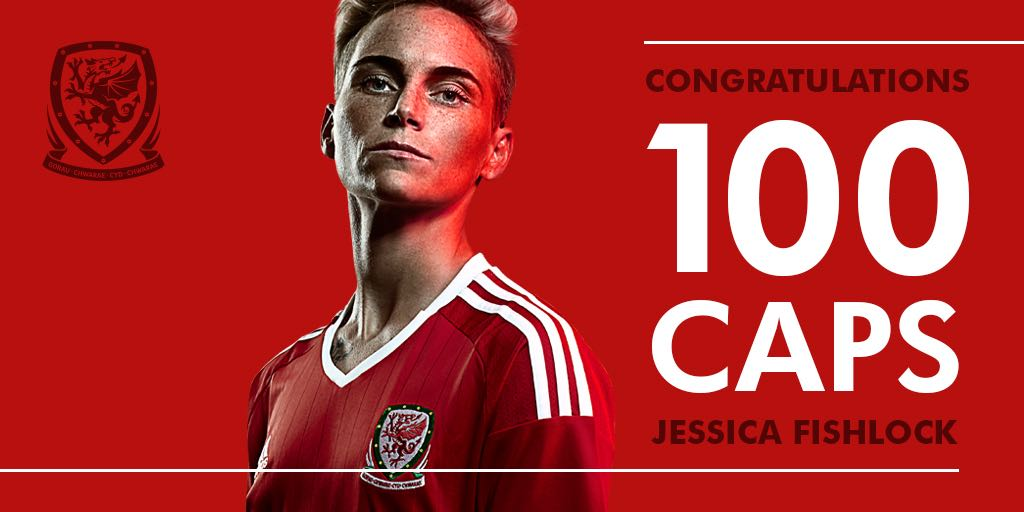 39' FISHLOCK! GOAL! A wonderful strike on the day she earns her 100th cap! Wales are back in the lead. 2-1 #WALNIR https://t.co/WNL83yXb9L