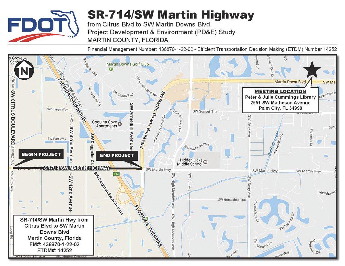 Citrus Cove Florida Map.Martin County Bocc On Twitter Palm City Residents Myfdot Sefl