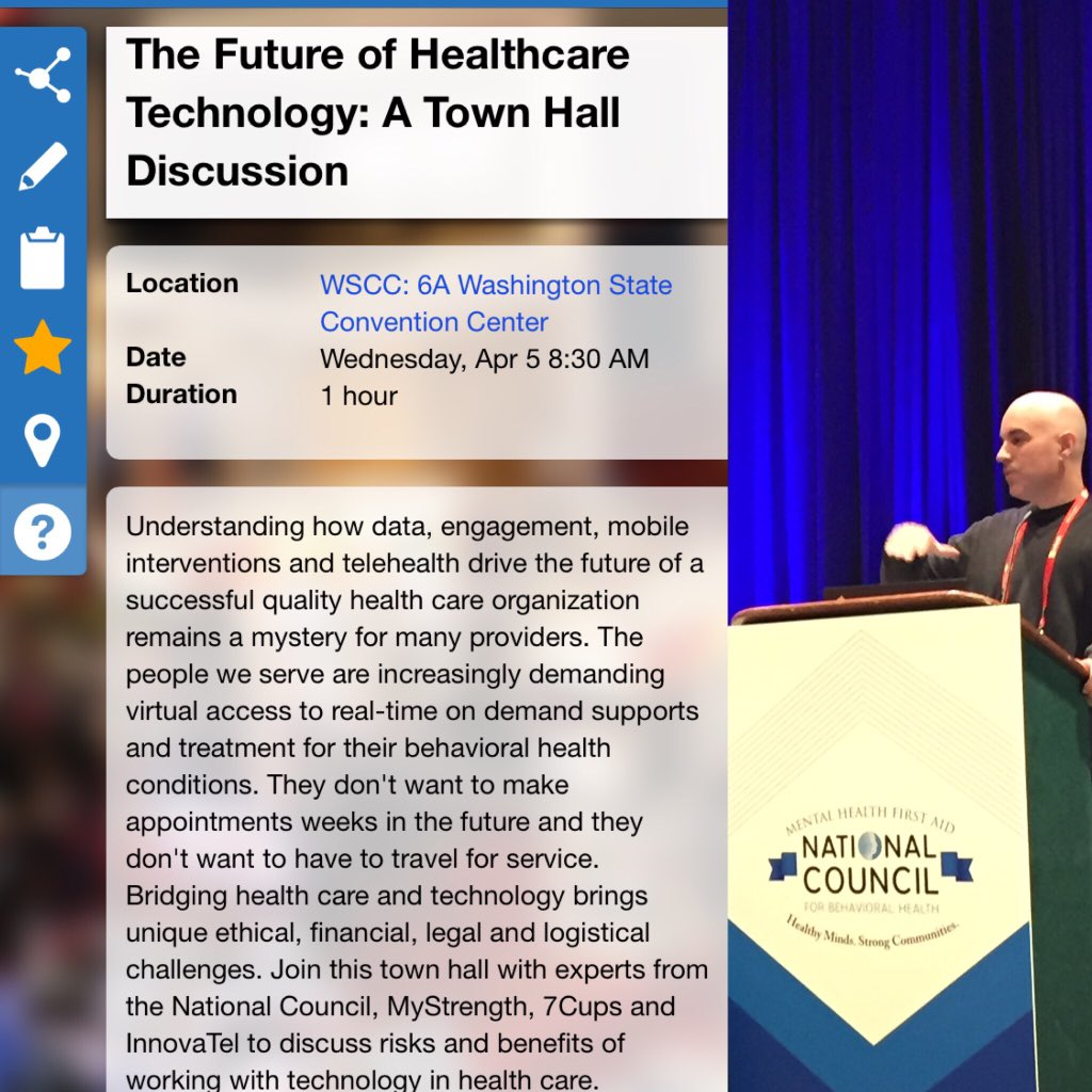 The Future of Healthcare Technology: A Town Hall Discussion #NatCon17 #HIT https://t.co/wgwsF5zUNa