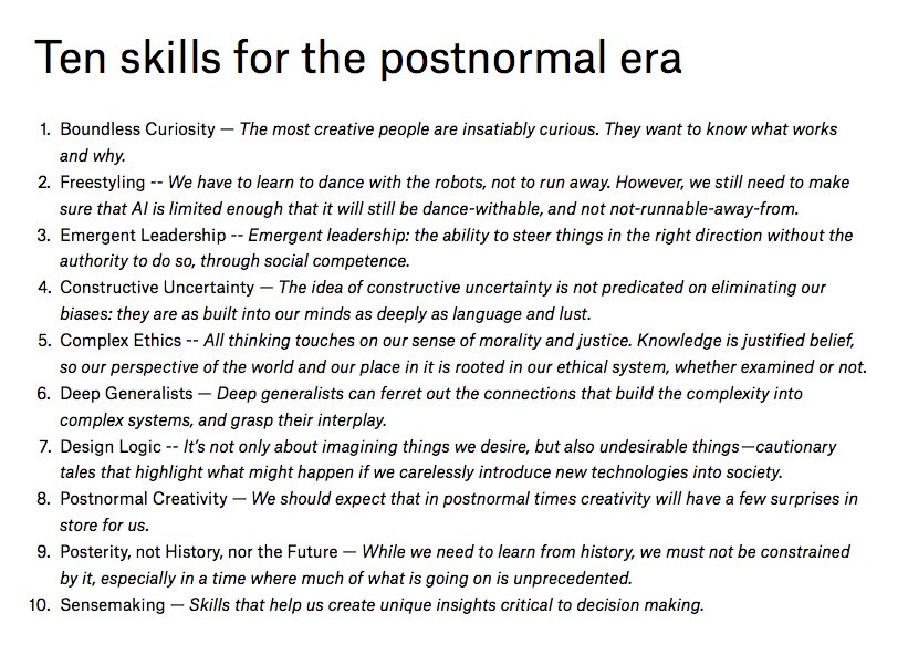 The most important skill for our era? Boundless Curiosity https://t.co/FqPCJwdCiT