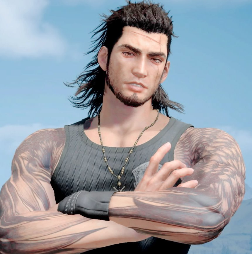 Gladiolus Amicitia On Twitter He Likes To Pose FFXV