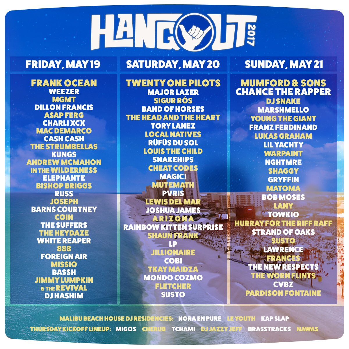 Daily lineups are here!
