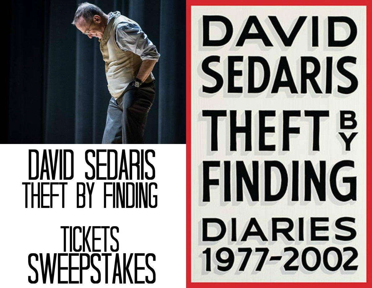 David Sedaris Chicago Tour