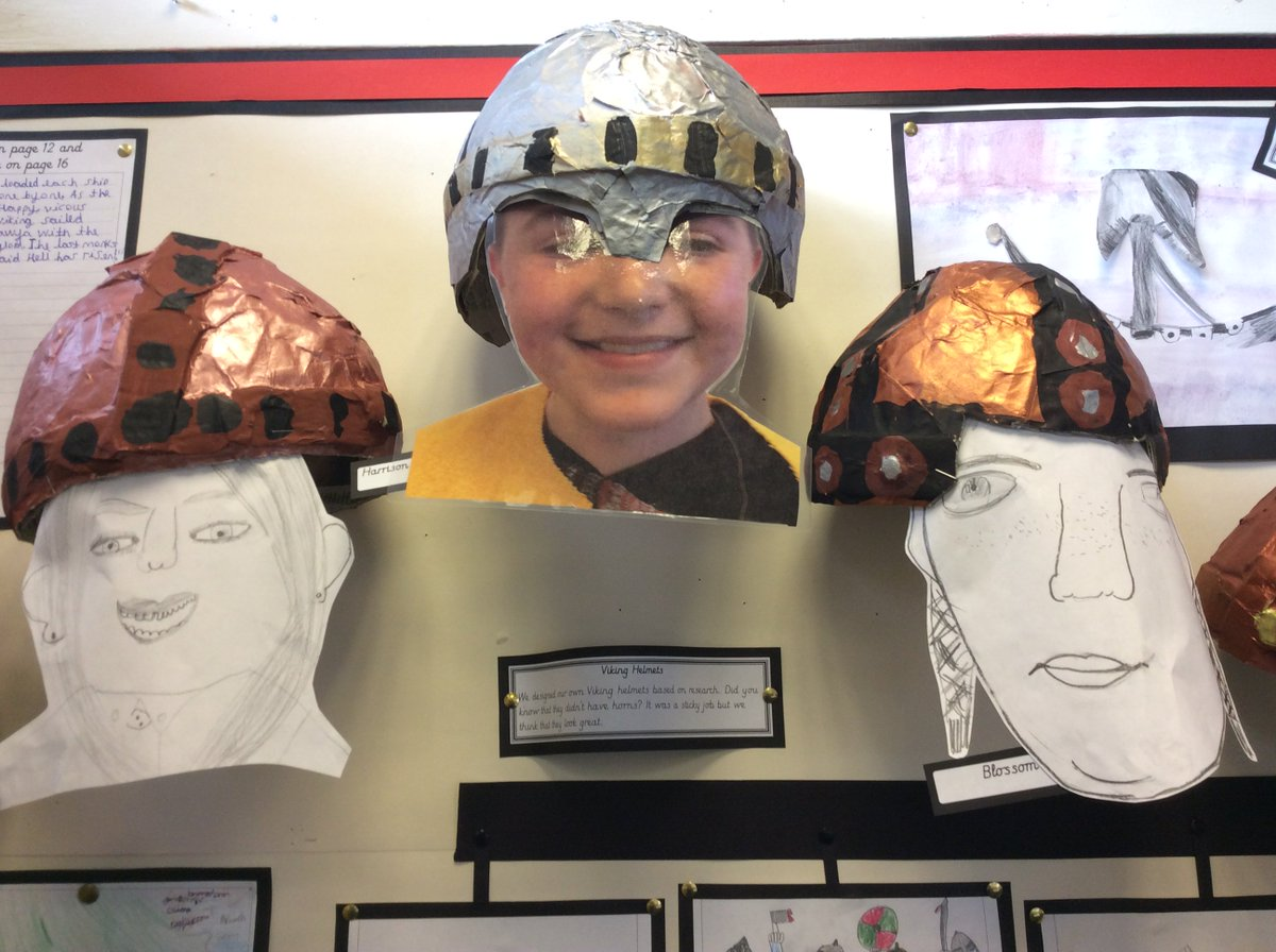 Y5 Vicious Vikings Check Out Our Designs And Completed Helmets Please Retweet To Share Our Fabulous Work Jorvikvikingpic Twitter Com Gy8aq4idbo
