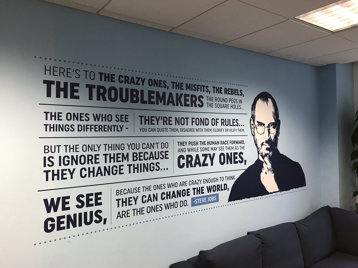 New wall art today at @republicofwork https://t.co/C54zfEuD0X