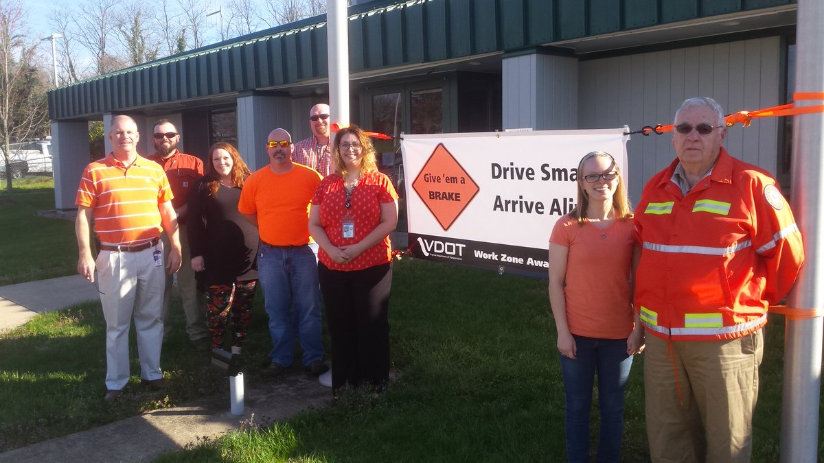 """VDOT Culpeper on Twitter: """"From our crews & office staff ..."""