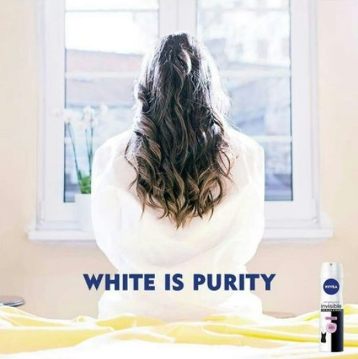 """Nivea pulled its """"White Is Purity"""" ad. https://t.co/1by1zI38hO https://t.co/aFbGZFLQcS"""