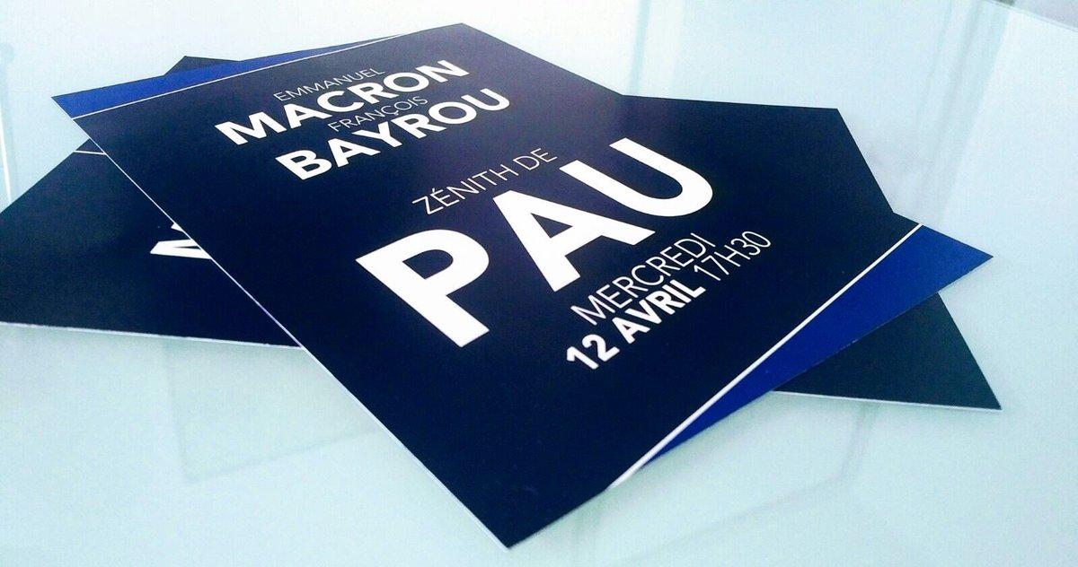 E. #Macron sera à #Pau le 12 avril où nous tiendrons meeting ensemble. #24HeuresEnQuestions #MoDem #EnMarche @LCI