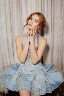 Happy birthday to the wonderful and incredible Lily James. My princess.