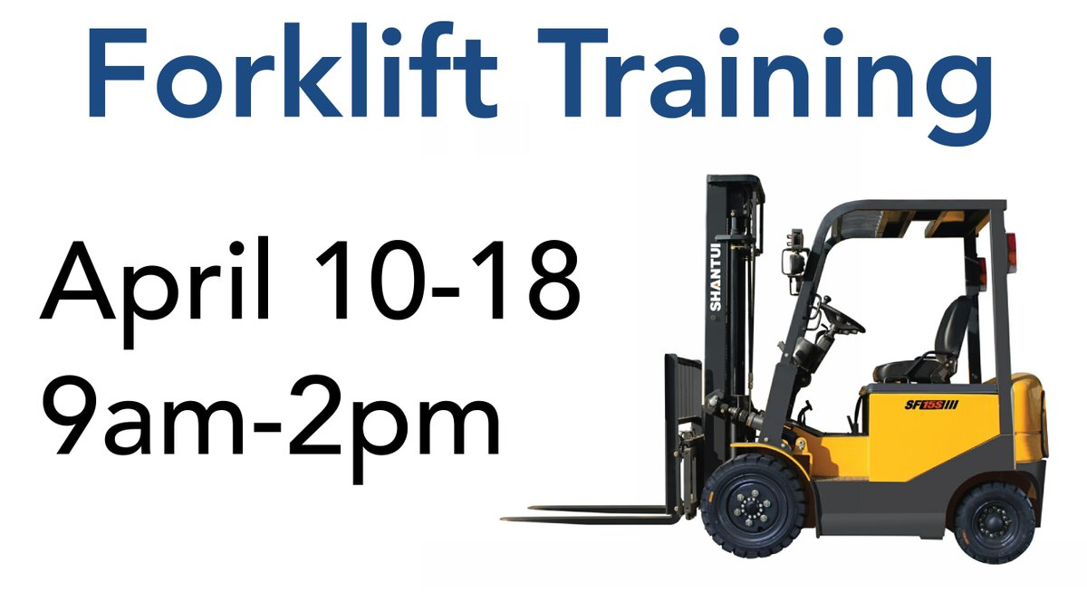 Goodwill Northwestnc On Twitter Next Forklift Class Is 410 18 At