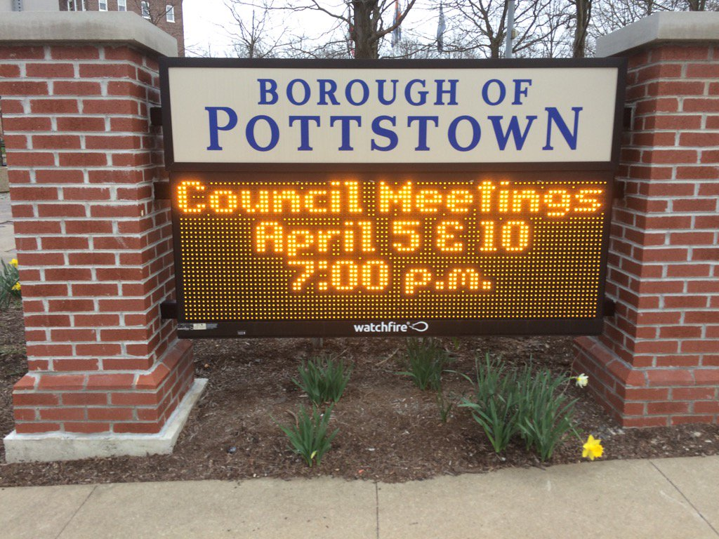 It's borough council meeting time! https://t.co/m3bAg8t1C7