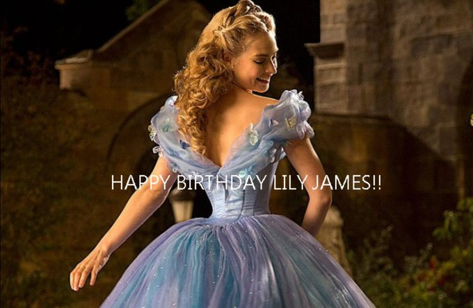 Happy Birthday to Lily James 4/5
