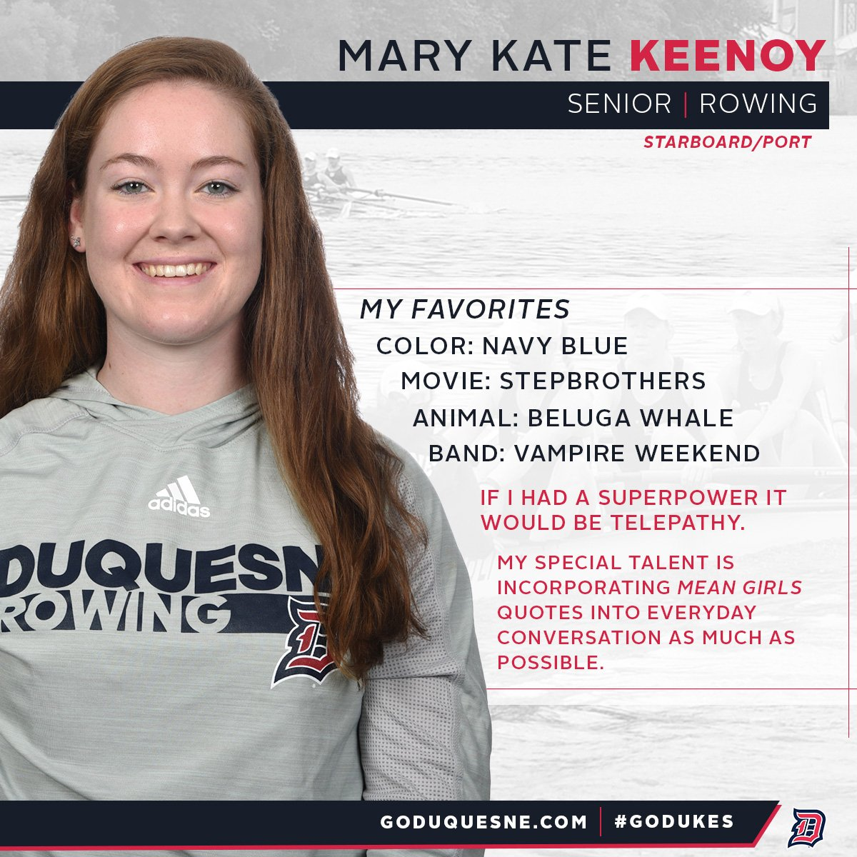 "Senior Quotes For Girls Duquesne Athletics On Twitter "".duqwrow Heads To Down To D.c."