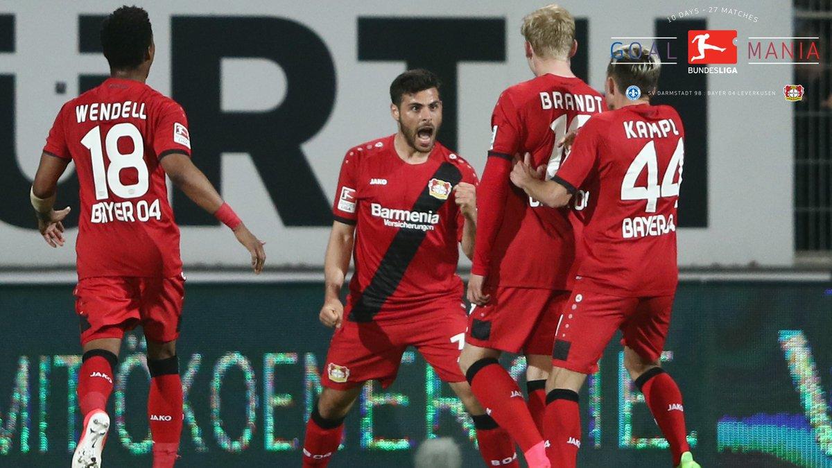 Video: Darmstadt 98 vs Bayer Leverkusen