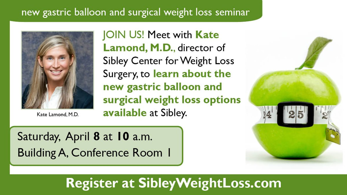 Sibley Hospital Jhm On Twitter Lose Weight Without Surgery Learn