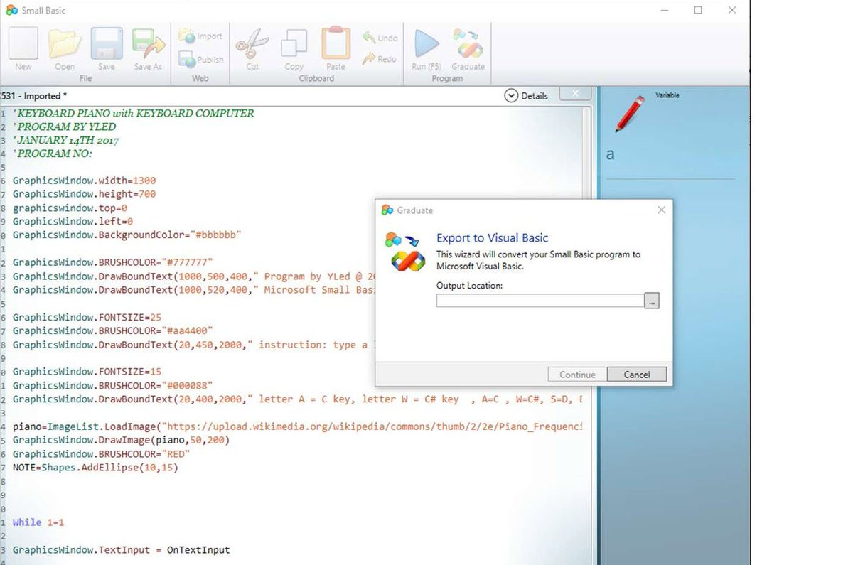itdev connections on twitter microsoft brings back the basic programming language to windows 10 httpstcouci8gjjvd7