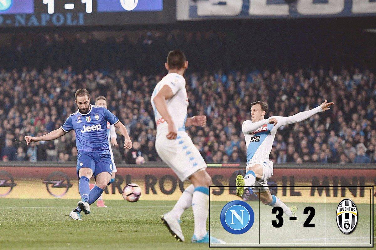 Napoli-Juve 3-2: De Laurentiis felice, i tifosi del Napoli no