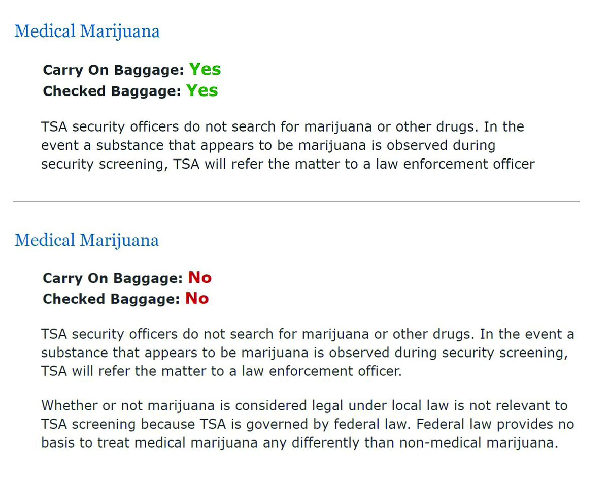 UPDATE: TSA Approves, Then Revokes, Medical Marijuana Flight Clearance