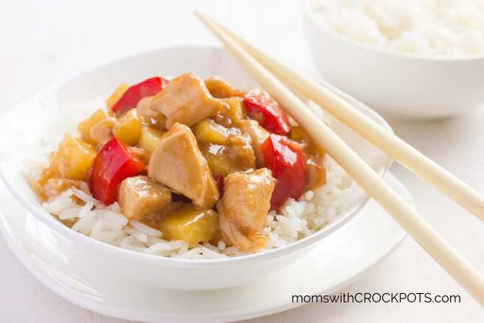 Crockpot Sweet & Sour Chicken