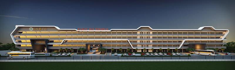 In pictures: New bus-port of Rajkot, works for which will ...