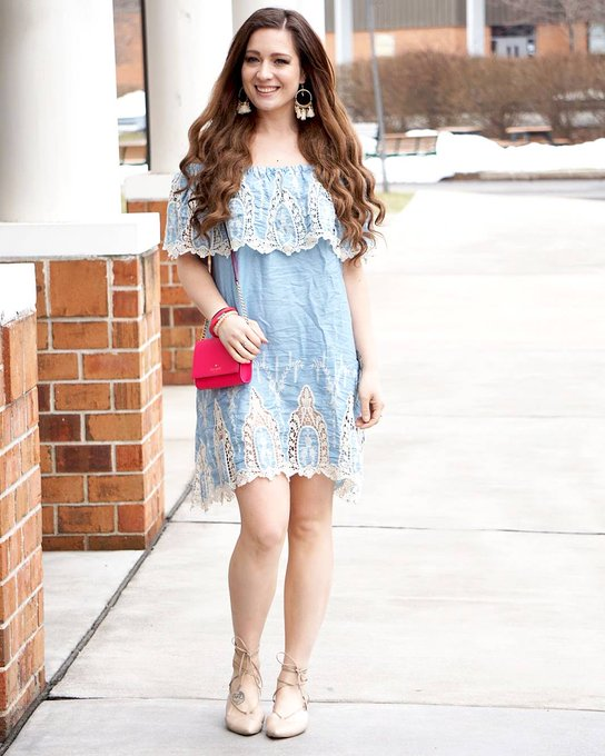Off the Shoulder with Zaful for Easter and a Linkup