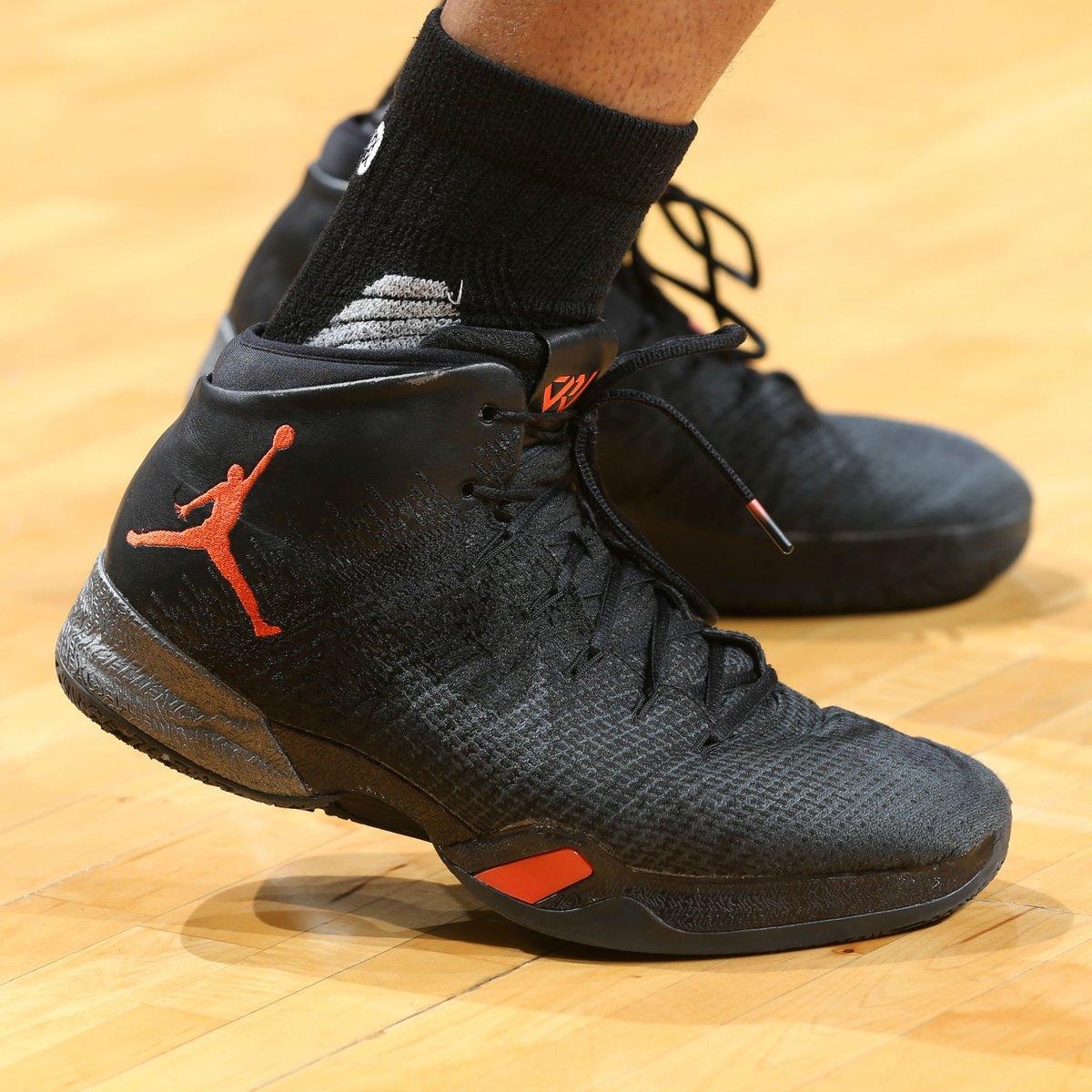 9926b1512e8  solewatch   russwest44 wearing an air jordan 30.5 pe. will he break the  triple-double record in these