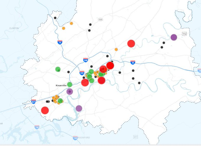 Knoxville KUB : Latest news, Breaking news headlines   Scoopnest on ct outage map, ugi outage map, wps power outages map,