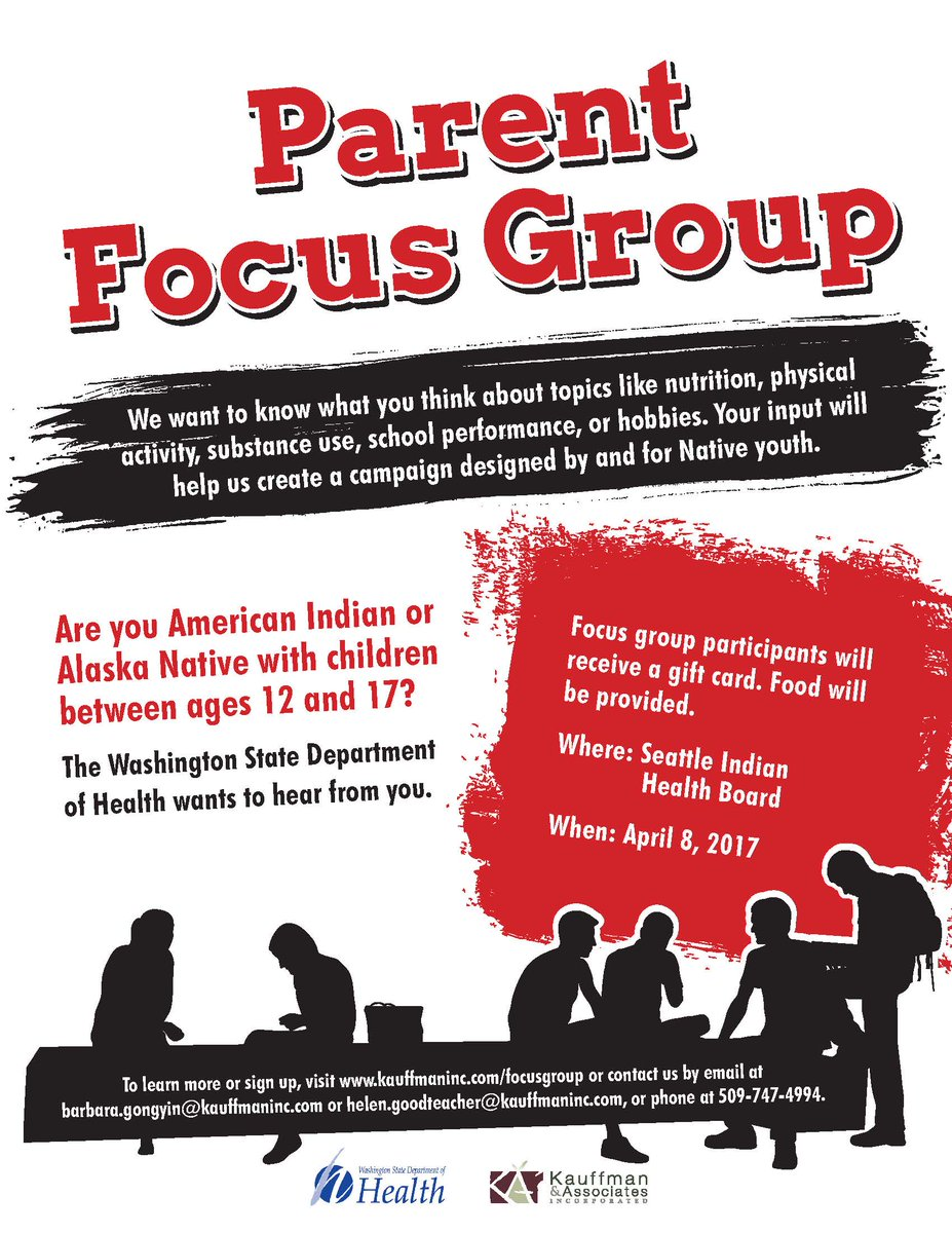 sihb on twitter native american youth and parent focus groups this saturday april 8 sihb1 food and gift card provided sign up httpstcobffnfllwdy