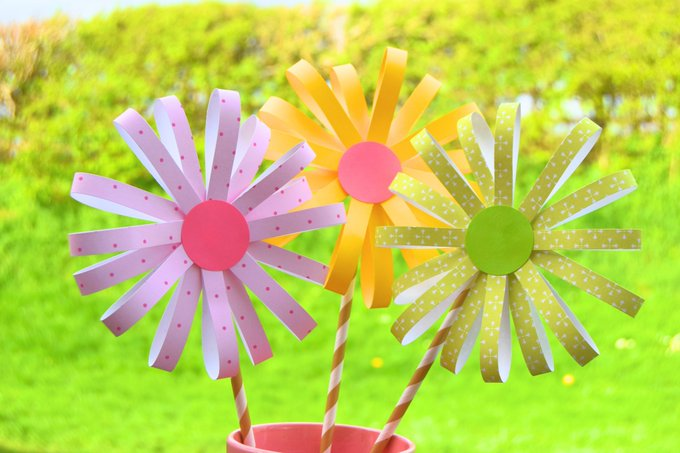 Easy Paper Flower Craft