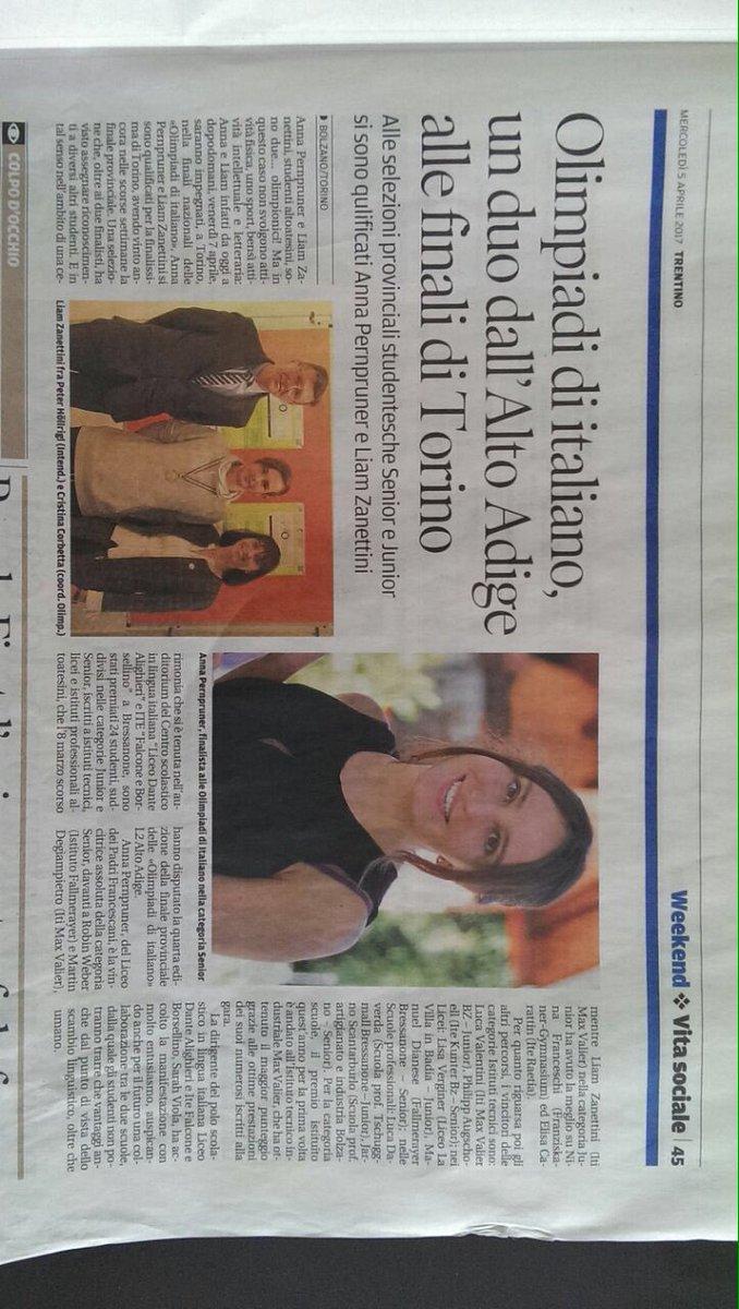 test Twitter Media - In gara Anna Pernpruner per l'Alto Adige! in bocca al lupo! https://t.co/IIGEvwjMGA