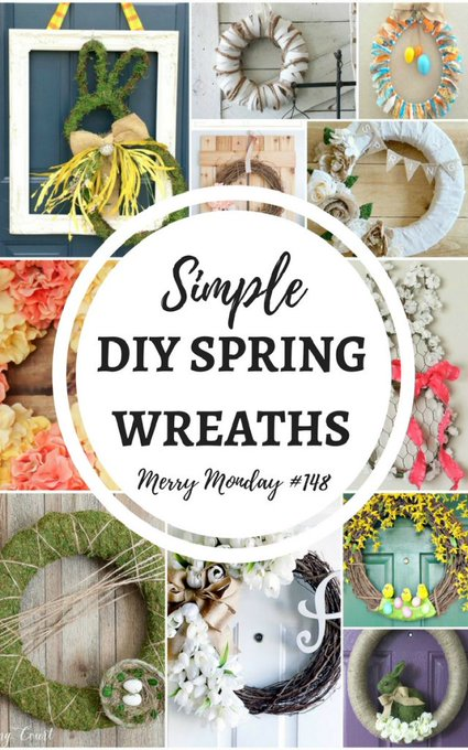 12 Simple DIY Spring Wreaths to Decorate Your Home