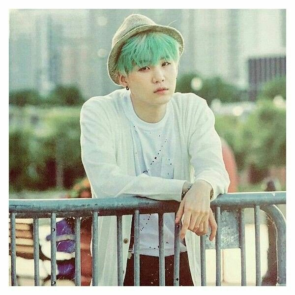 He Is So Hot Yoongis Mint Hair Fits For Him BTSWingsTourManila Bts Suga Sugaday Minyoongi Minthairpictwitter K500nDa3V3