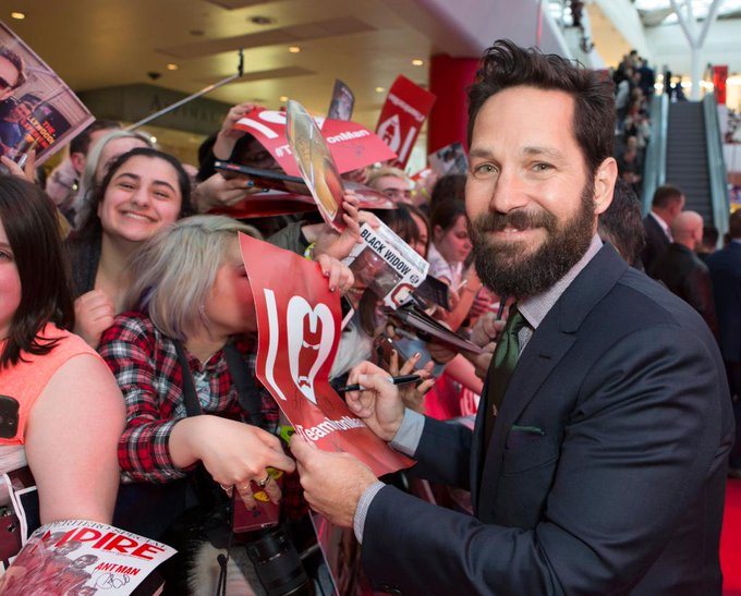 Join us in wishing Paul Rudd a Happy Birthday! He\ll think you for thanking of him.