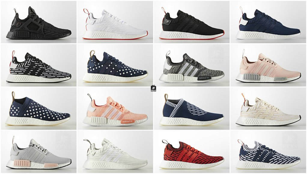 adidas NMD Releases on April 6th, 2017